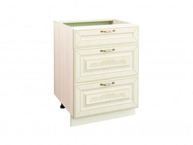 Стол кухонный (3 ящика с системой плавного закрывания) Оливия 71.91