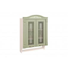 Шкаф-витрина кухонный с колоннами Оливия 72.15