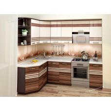 Кухонный гарнитур угловой Рио 17 (ширина 160х240 см)