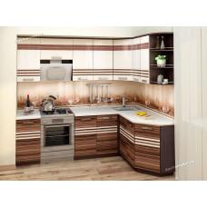 Кухонный гарнитур угловой Рио 16 (ширина 240х160 см)