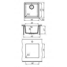 Кухонная мойка ВЕГА 360