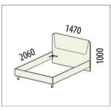 Кровать Бриз 54.12