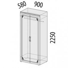 Шкаф двухдверный 99.11 Версаль