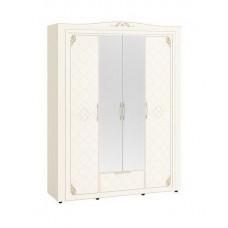Шкаф четырехдверный с зеркалом 99.14 Версаль