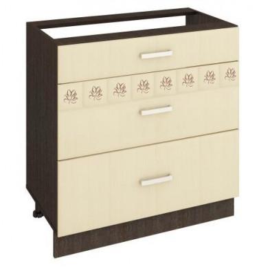 10.67.2 Стол с 3 ящиками с метабоксами