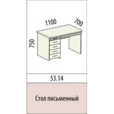 Стол письменный Акварель 53.14