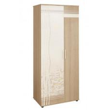 Шкаф двухдверный многофункциональный Бриз 54.01