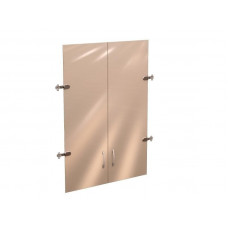 Двери стекло (для шкафа  Рубин 41.31) на 3 секции Рубин  41.38